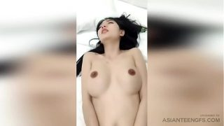 (AMATEUR) Chinese model with big boobs was fucked LIVE