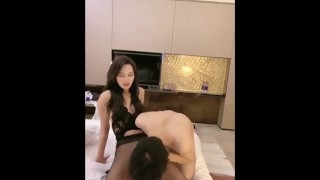 Ladyboy getting fucked in the ass I can´t believe she has a cock very sissy and pretty